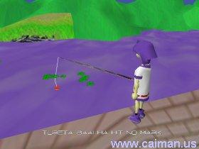 Doki Poya Marin Fishing Minigame