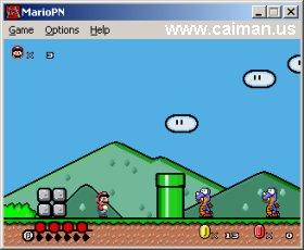 Mario Pipe Network