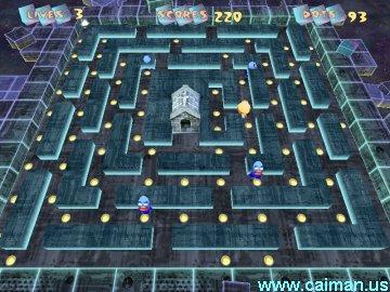 Pac-Mania Worlds 3D