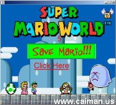 Save Mario !!!