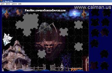 Free Grim Reaper Jig Saw Puzzle