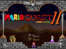Mario Quest 2: Sonic Returns