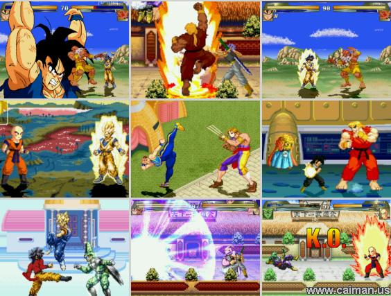 dragon ball z free games