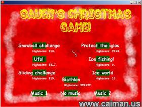 Sauen's Christmas Game