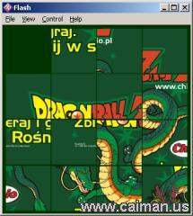 DragonBall Z Chio puzzle