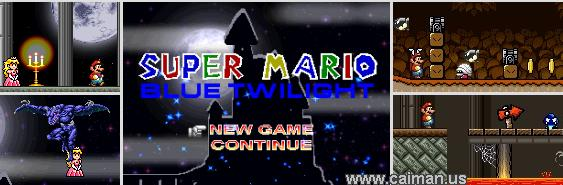 Super Mario Blue Twilight DX