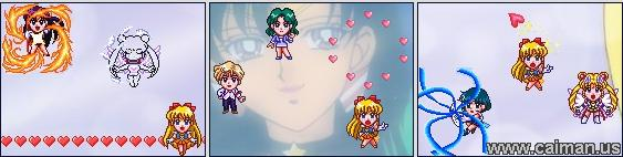 Sailor Moon - Sailor War