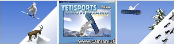 YetiSports 7 - Snowboard Free Ride