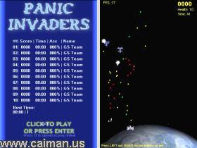 Panic Invaders