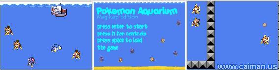 Pokemon Aquarium - Magikarp edition