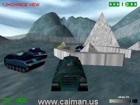 Blue Panzer 3D: New Enemies