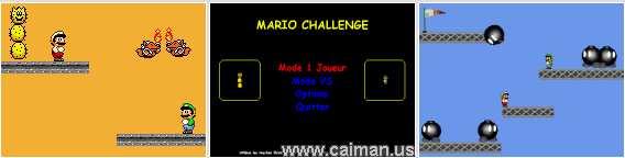 Mario Challenge