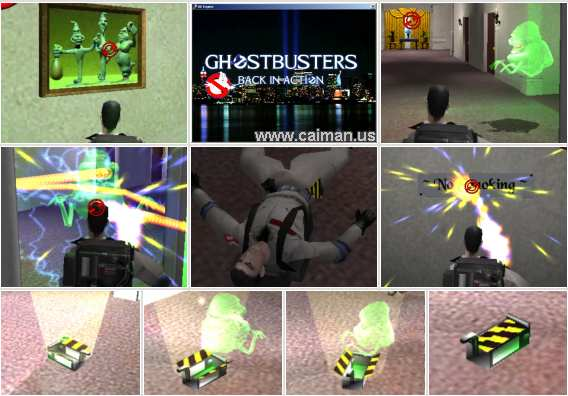 GhostBusters 3D Back in Action