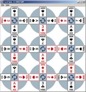 Card Spin