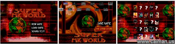 Super Mortal Kombat World