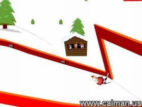 Super-Santa Ski Jump