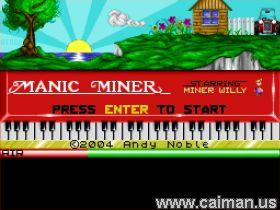 Manic Miner PC