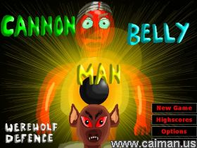 Cannon Belly Man: Werewolf Defence