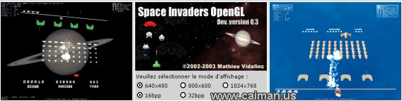 Space Invaders OpenGL