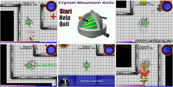 Crystal Mountain Balls