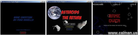 Asteroids The Return