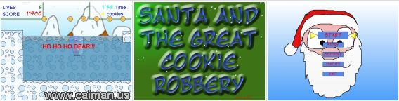 Santa and the Great Cookie Robbery