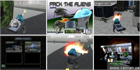 Pack the aliens!