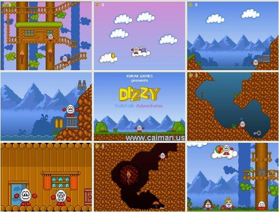 Dizzy YolkFolk Adventures