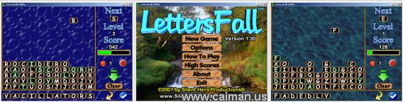 LettersFall 100%