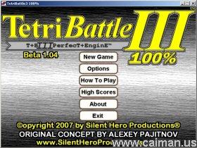 TetriBattle 3 100%