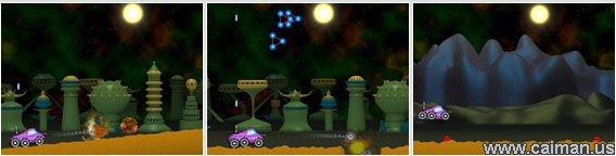 Moon Patrol: New Path