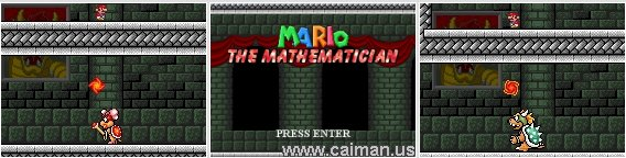 Mario The Mathematician