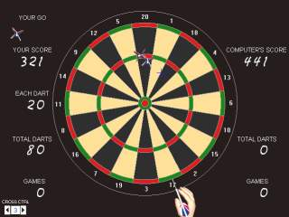 Grey Olltwit's Darts game