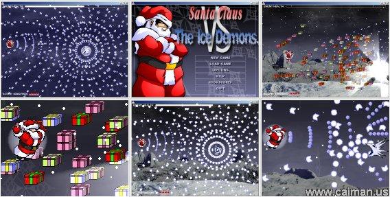 Santa versus The Ice Demons