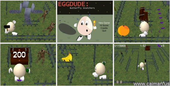 Eggdude: Butterfly Snatchers