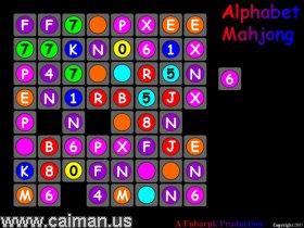 Alphabet Mahjong