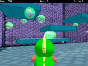 3D Bubble Bobble