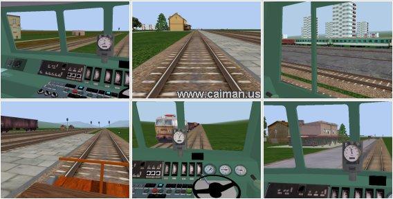 EU07-424 Locomotive Simulator