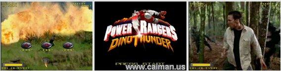 Power Rangers - Dino Thunder 1