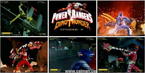 Power Rangers - Dino Thunder 2