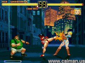 Street Fighter vs Fatal Fury