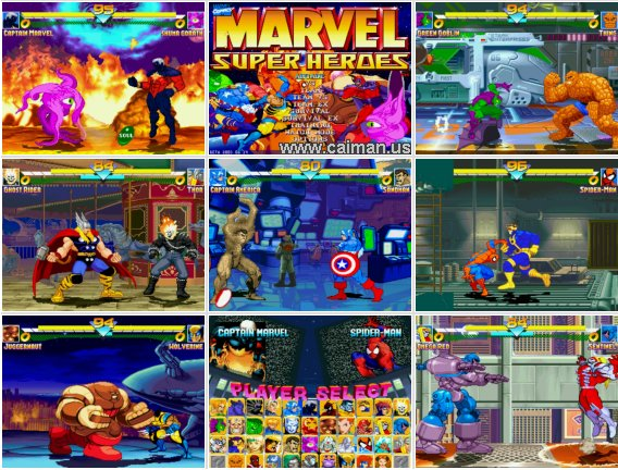 Marvel Super Heroes - Melee Edition