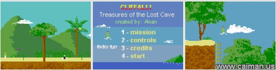 Cliffall - Treasures of the Lost Cave