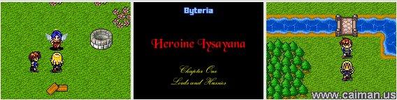 Heroine Iysayana - Trilogy