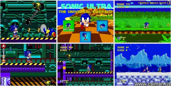 Sonic Ultra - The Universal Emerald