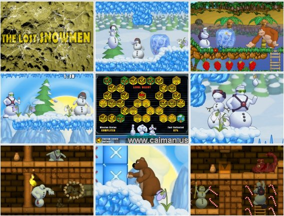 The Lost Snowmen