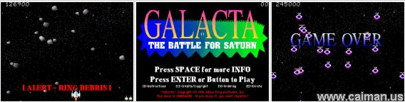 Galacta - The Battle for Saturn
