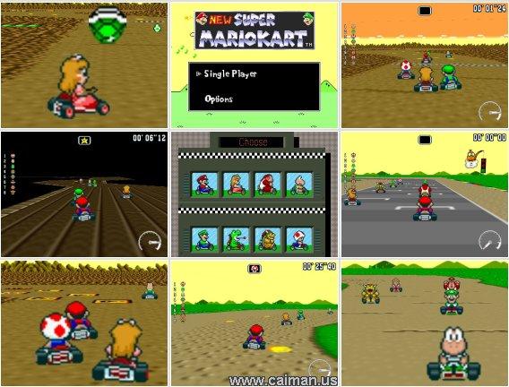 New Super Mario Kart