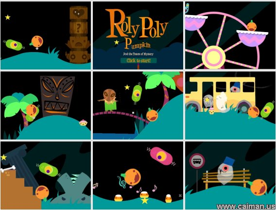 Roly Poly Pumpkin and the Totem of Mystery