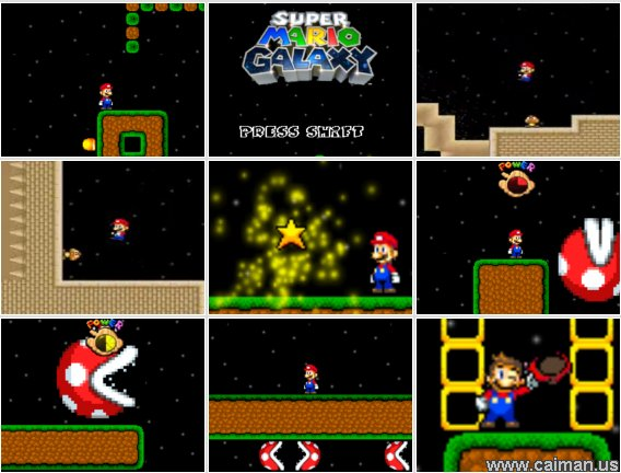 mario flash  game free